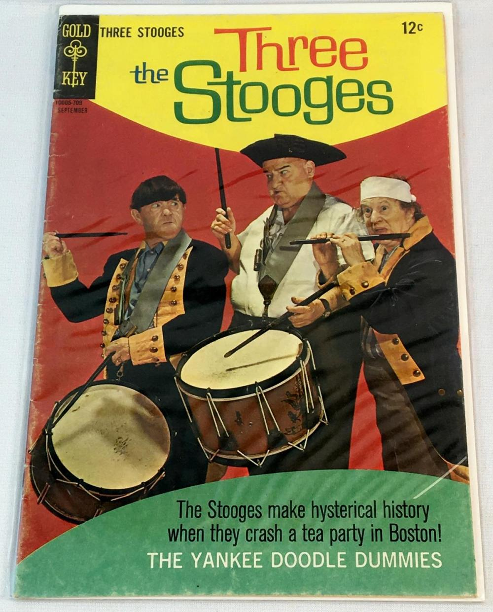 Vintage 1967 The Three Stooges No. 36 Gold Key 12 Cent Comic Book
