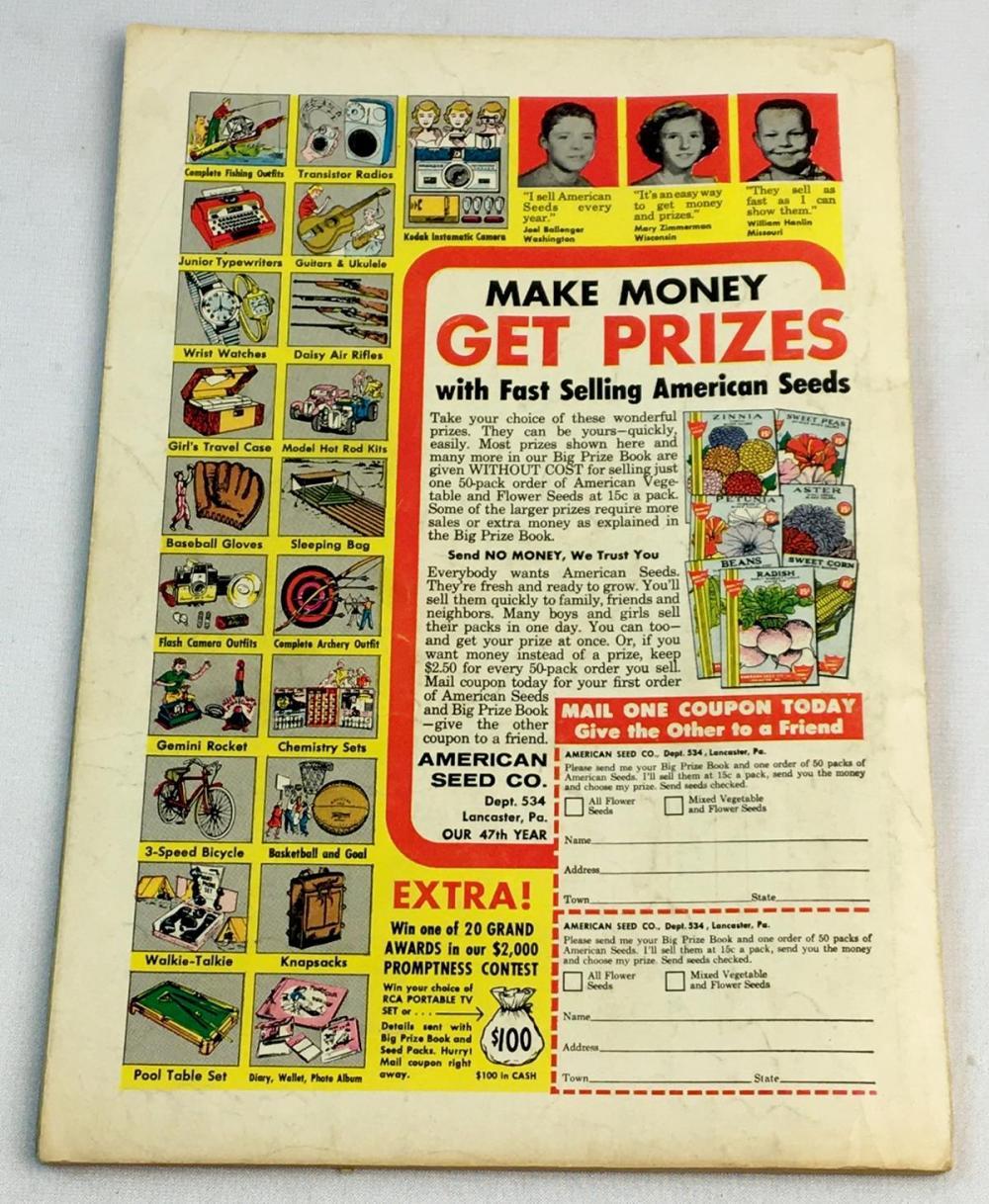 Vintage March 1965 More Secret Origins 80 Page Giant (Justice League) No. 8 DC 25 Cent Comic Book