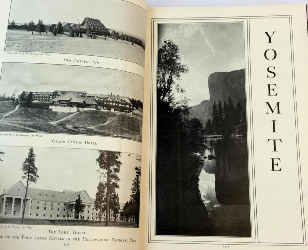 1928 The National Parks Portfolio By Robert Sterling Yard ILLUSTRATED National Park Service