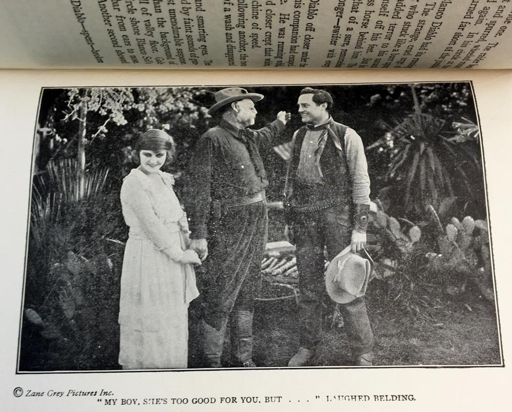 1913 Desert Gold by Zane Grey Photo Illustrated FIRST EDITION