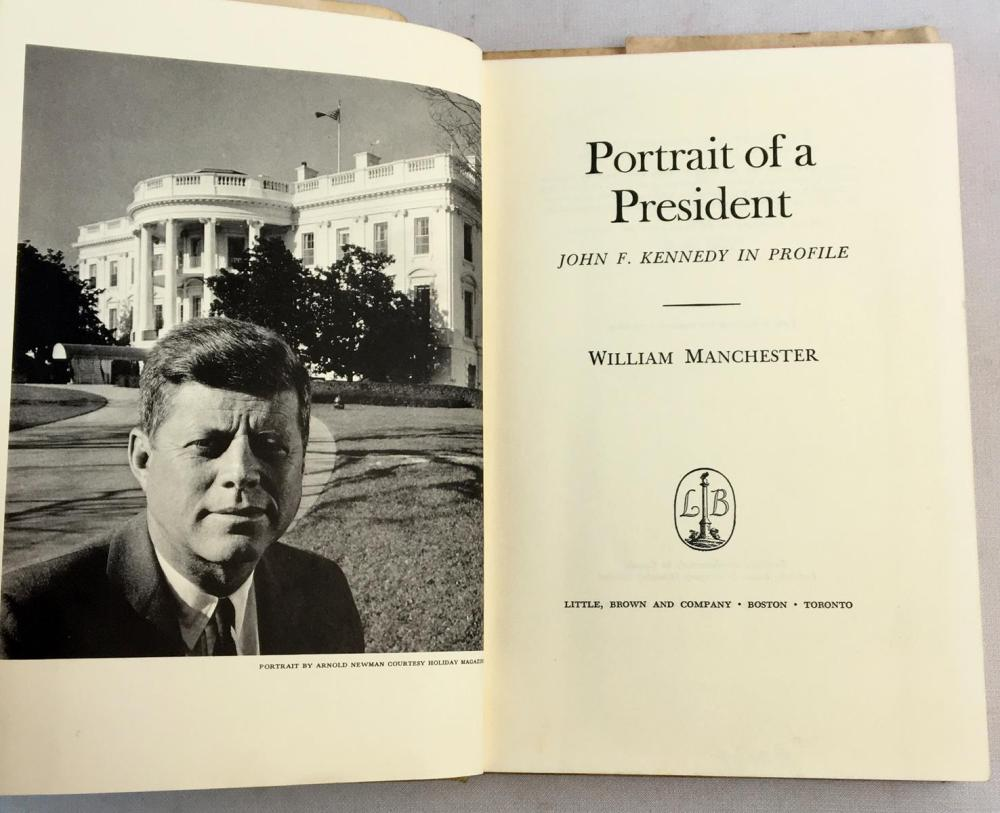 1962 Portrait of a President: John F. Kennedy in Profile by William Manchester w/ Dust Jacket