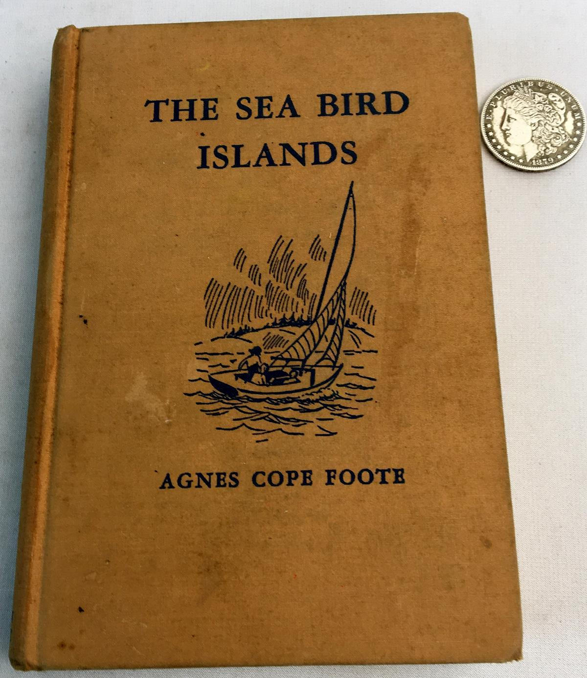 1939 The Sea Bird Islands by Agnes Cope Foote Illustrated by Andrew Wyeth FIRST EDITION