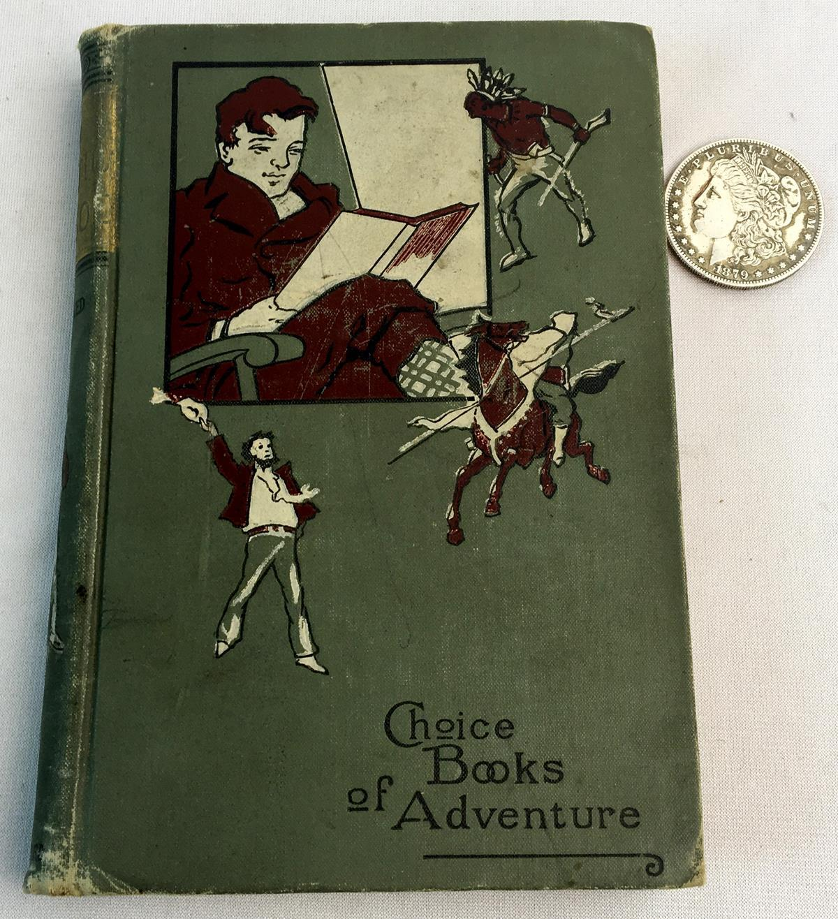 The Arctic Crusoe: A Tale of The Polar Sea or Arctic Adventures on The Sea of Ice by Percy B. St. John ILLUSTRATED c. 1890