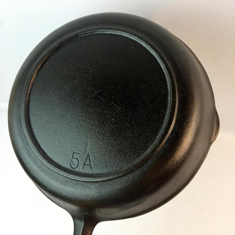 Vintage BSR Red Mountain No. 5 A Cast Iron Skillet w/ Heat Ring