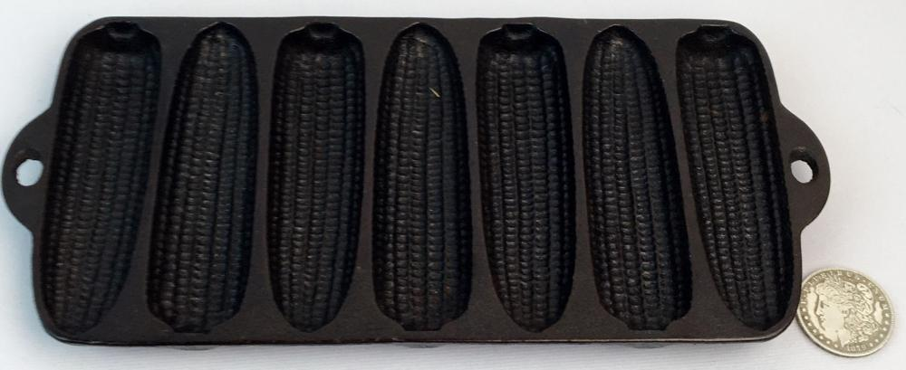 Antique 1920 Wagner Ware Cast Iron Corn Bread Pan C w/ 7 Forms