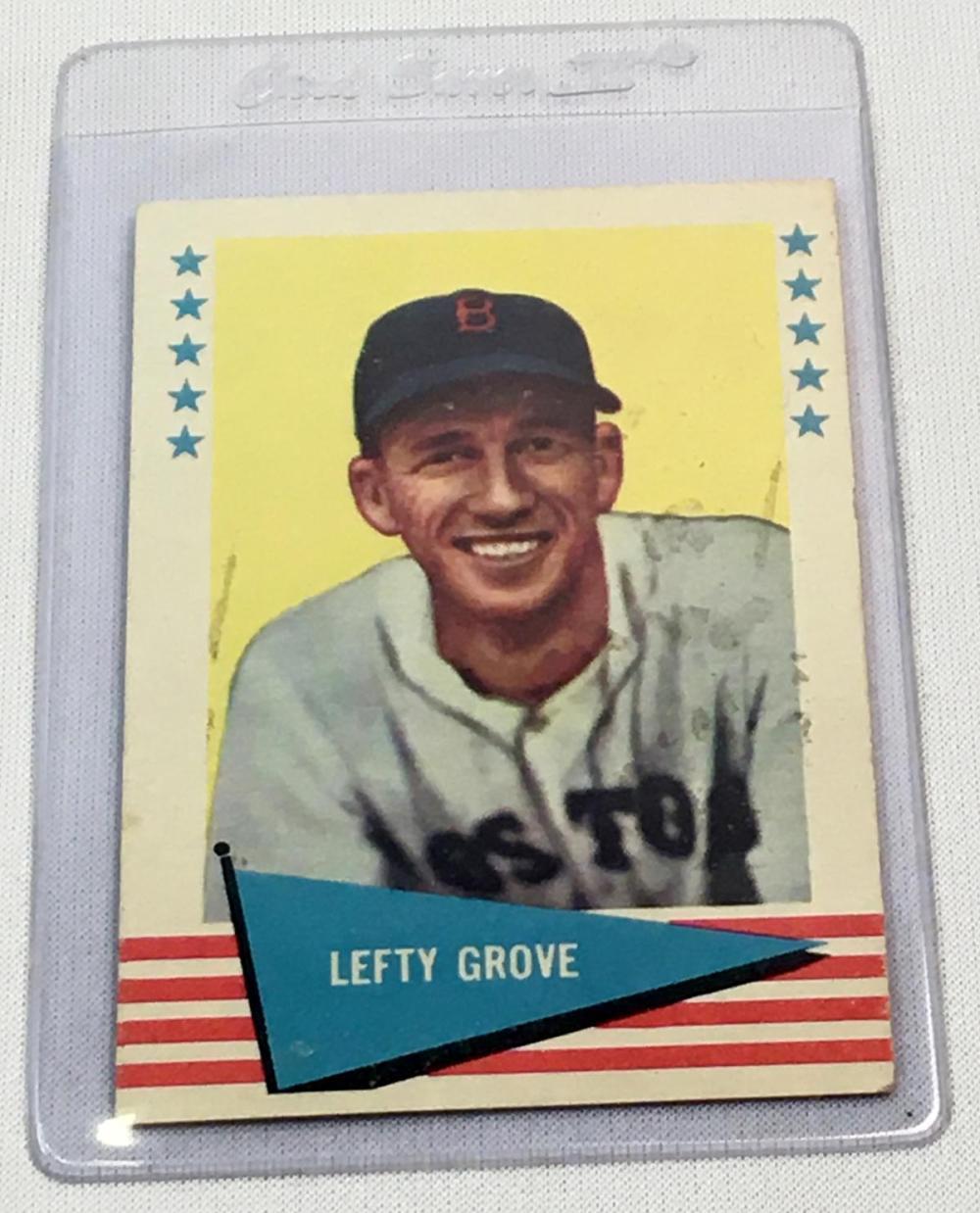 1961 Fleer Set Break #38 Lefty Grove Baseball Card