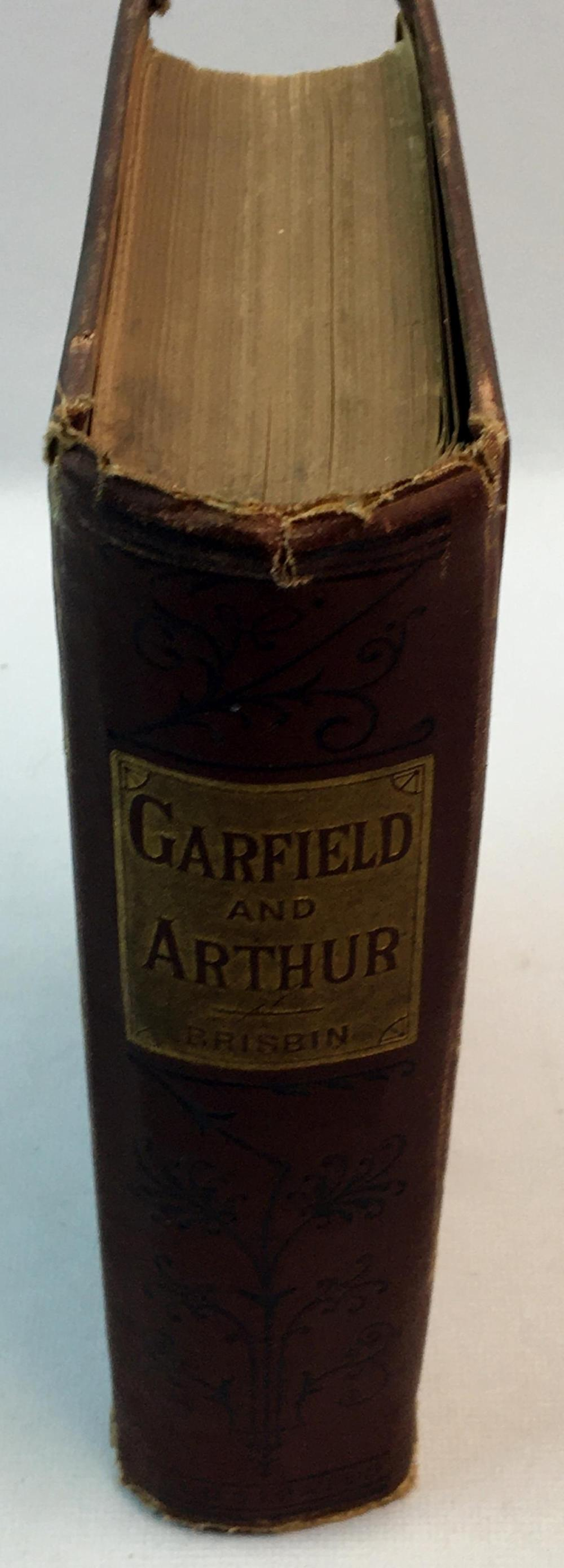 1880 The Life and Public Career of Gen. James A. Garfield (Garfield and Arthur) by Gen. Jas. S. Brisbin FIRST EDITION