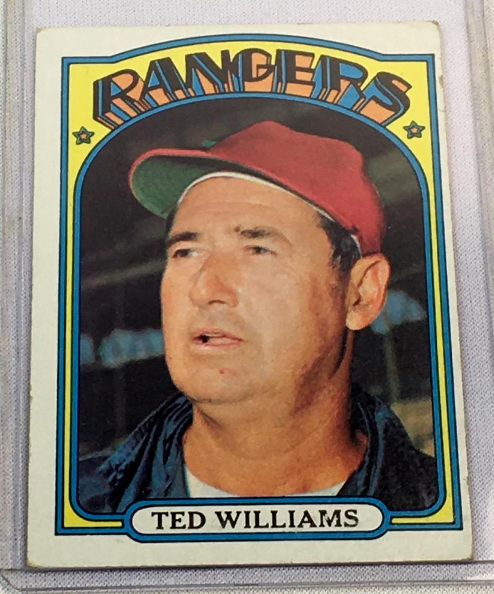 1972 Topps Set Break #510 Ted Williams Baseball Card