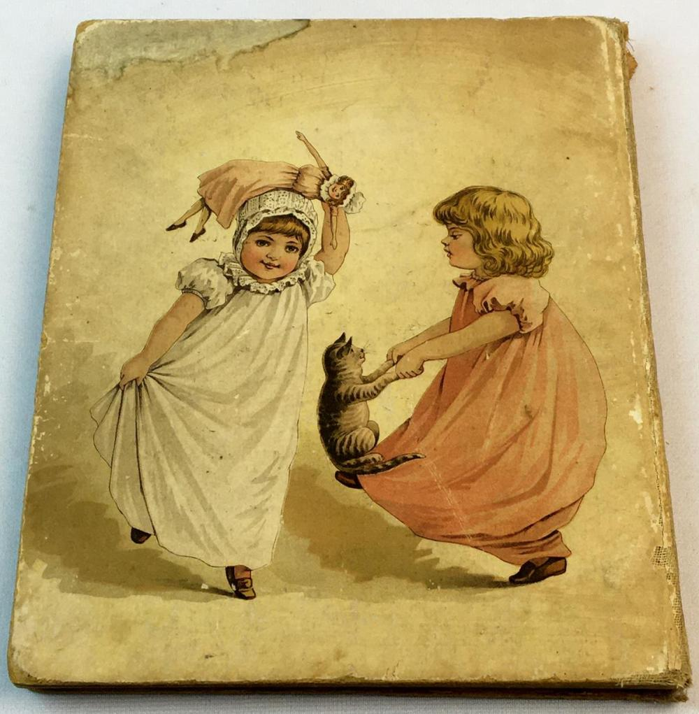 1890 Sunny Childhood Pictures and Stories For Little People FIRST EDITION Illustrated