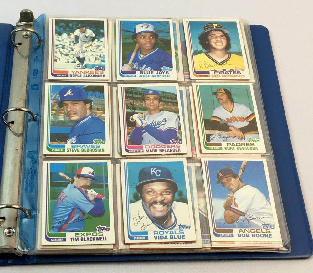 1982 Topps Traded Baseball 132 Card Complete Set (Cal Ripken, JR. RC, Smith, Jackson Etc..)