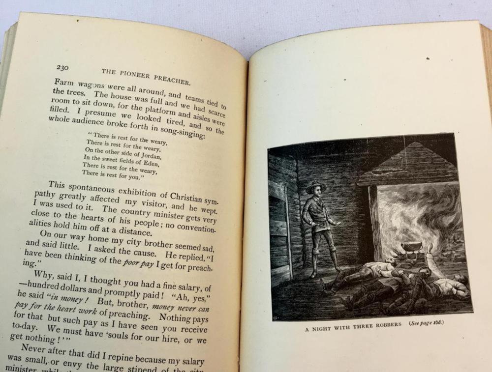 1887 The Pioneer Preacher An Autobiography By Rev. Sherlock Bristol FIRST EDITION