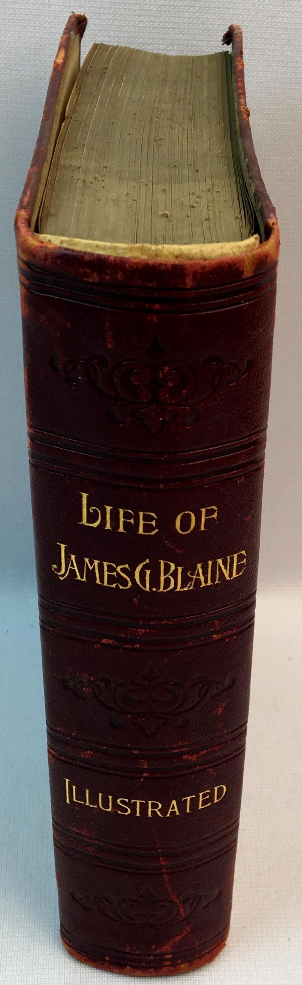 1893 Life of James G. Blaine