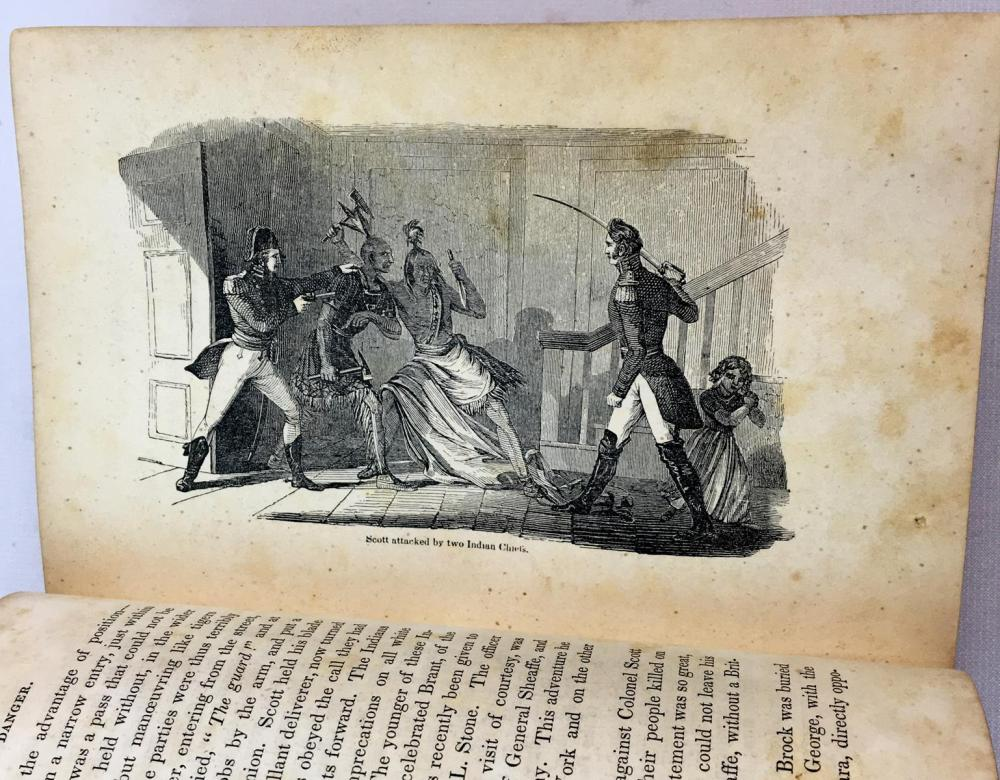 1852 Life and Services of General Winfield Scott by Edward D. Mansfield, Esq. FIRST EDITION