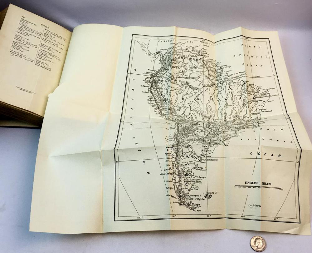 1912 South American Archaeology by Thomas A. Joyce Illustrations and Map FIRST EDITION