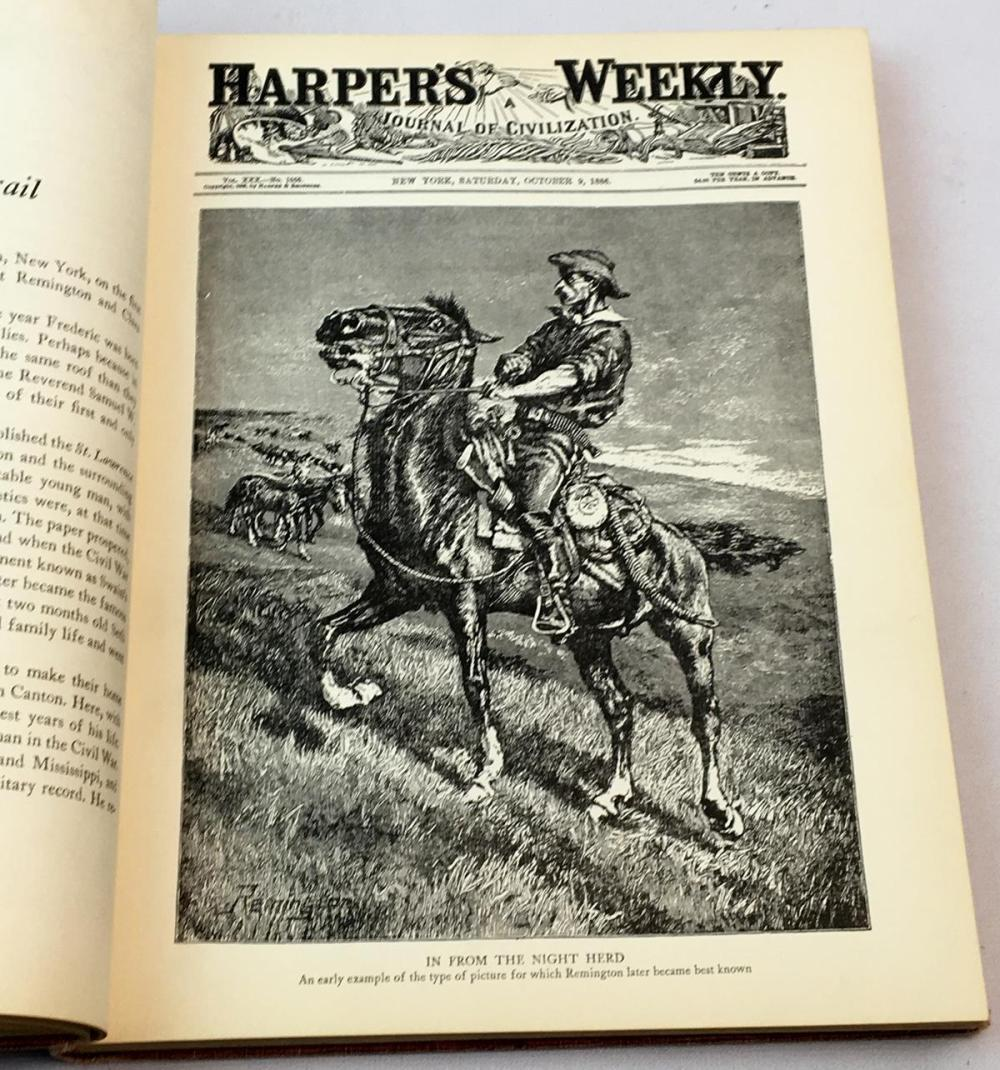 1947 Frederic Remington: Artist of the Old West by Harold McCracken FIRST EDITION