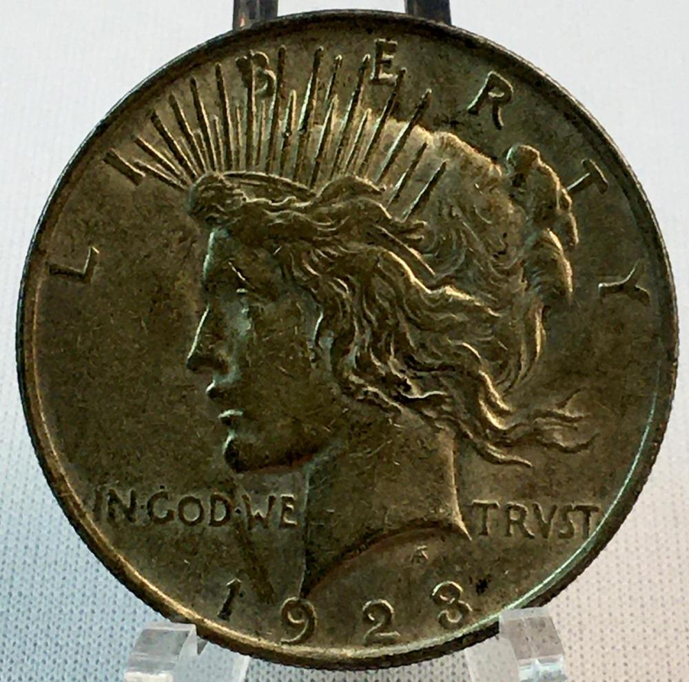 1923 US $1 Peace Silver Dollar