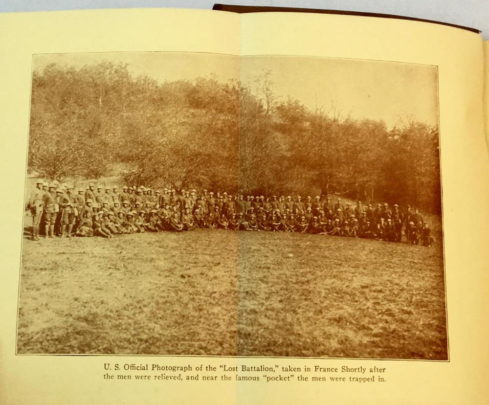 1929 History & Rhymes Of The Lost Battalion by