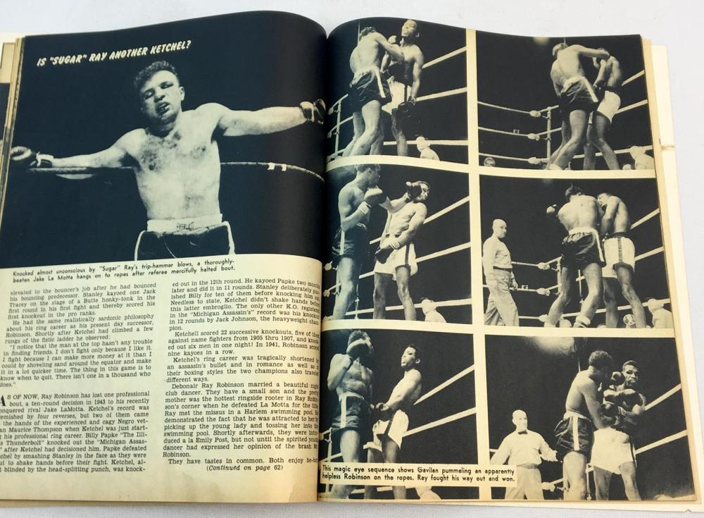 Vintage June 1951 Wrestling and TV Sports Magazine (Max Baer Cover)
