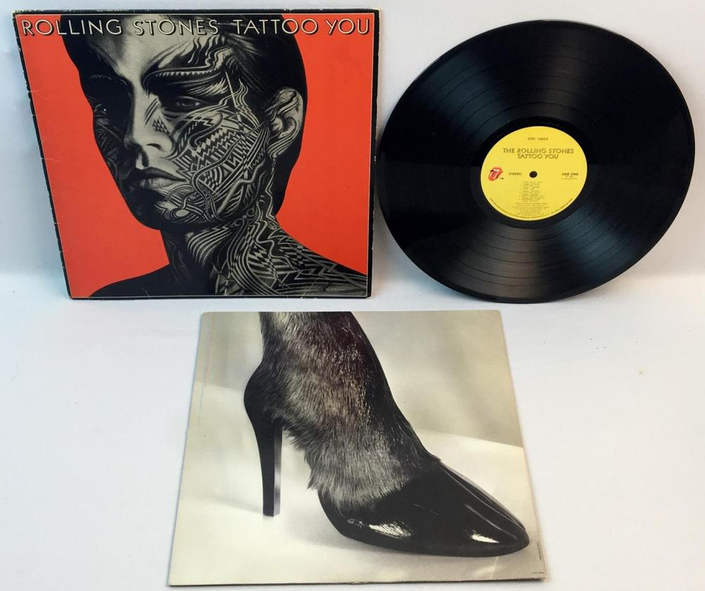 "The Rolling Stones ""Tattoo You"" 1981 LP Rolling Stones Records COC 16052 Stereo"