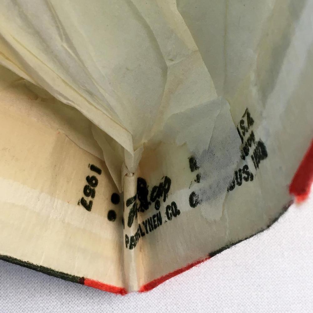 Vintage 1957 Kellogg's Rice Corn Flakes / Rice Krispies Advertising Paper Hat