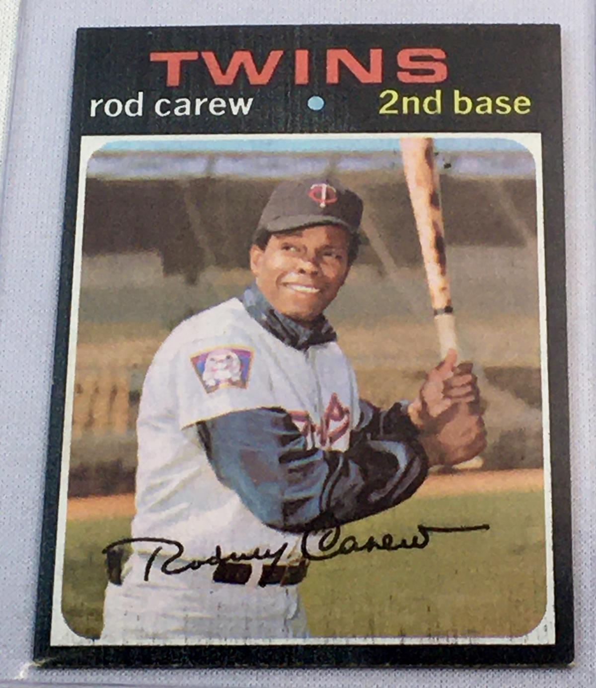 1971 Topps Set Break #210 Rod Carew Baseball Card