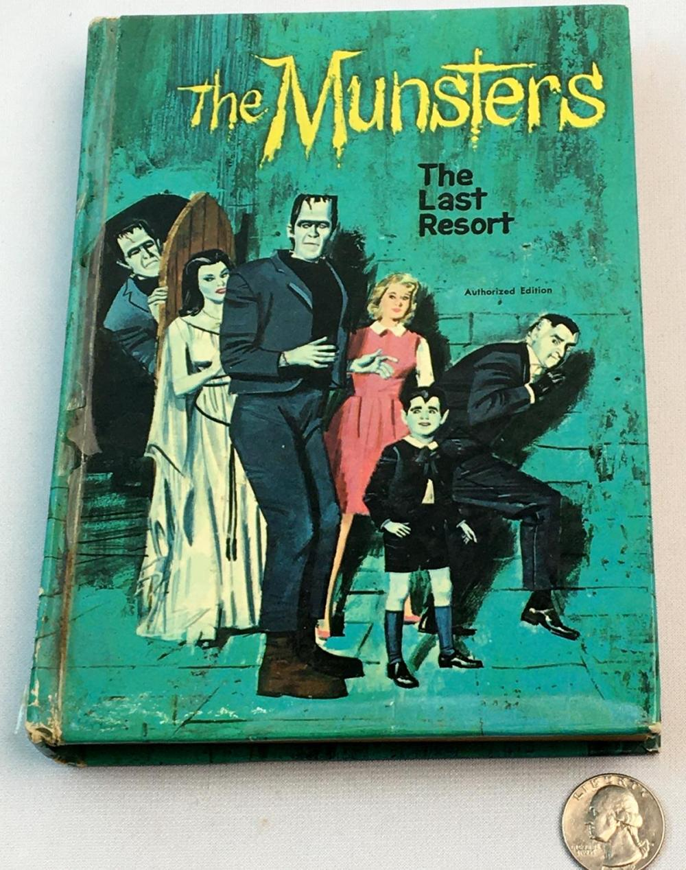 "1966 The Munsters ""The Last Resort"" by William Johnston Authorized TV Adventure"