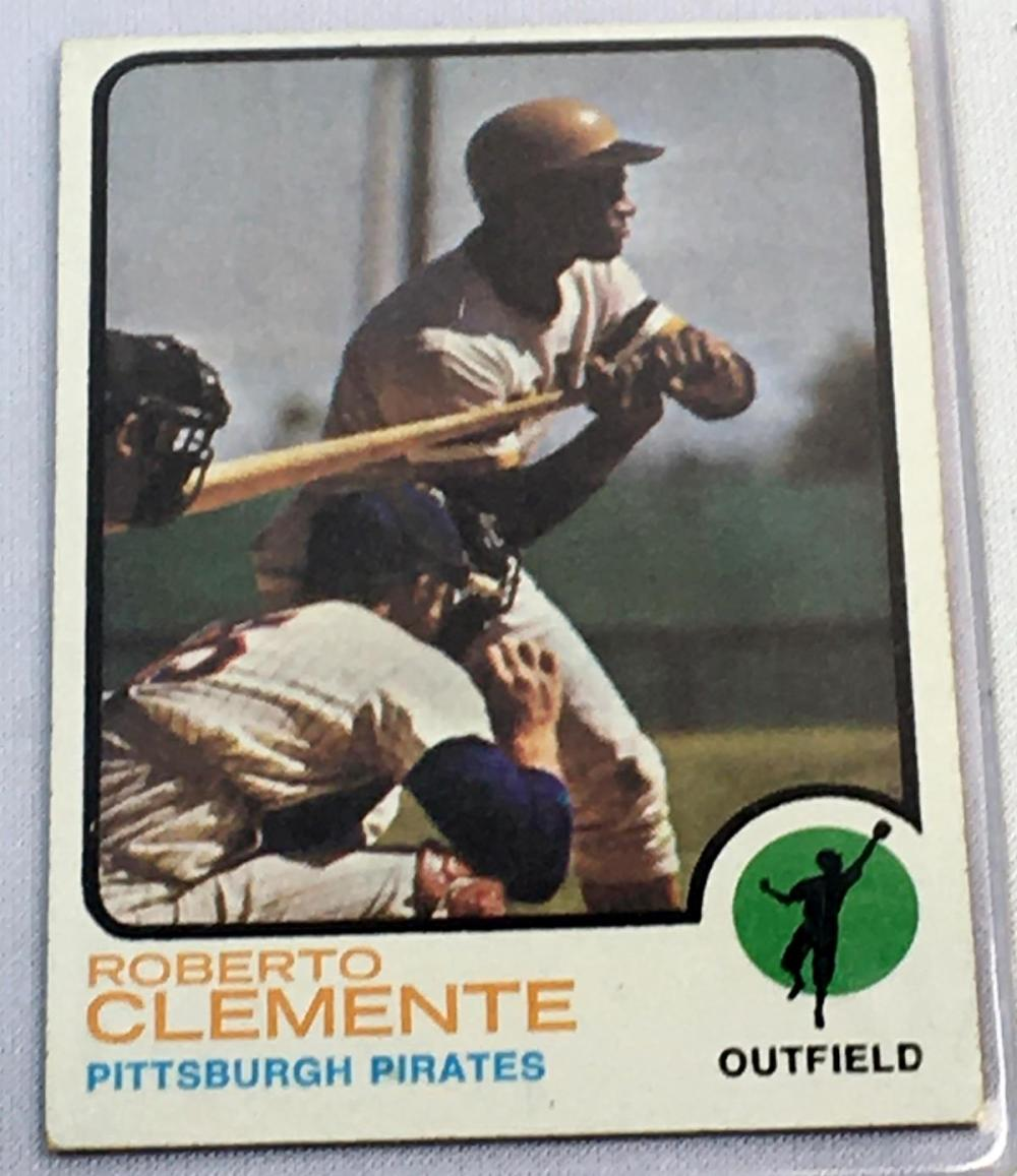 1973 Topps Set Break # 50 Roberto Clemente Baseball Card