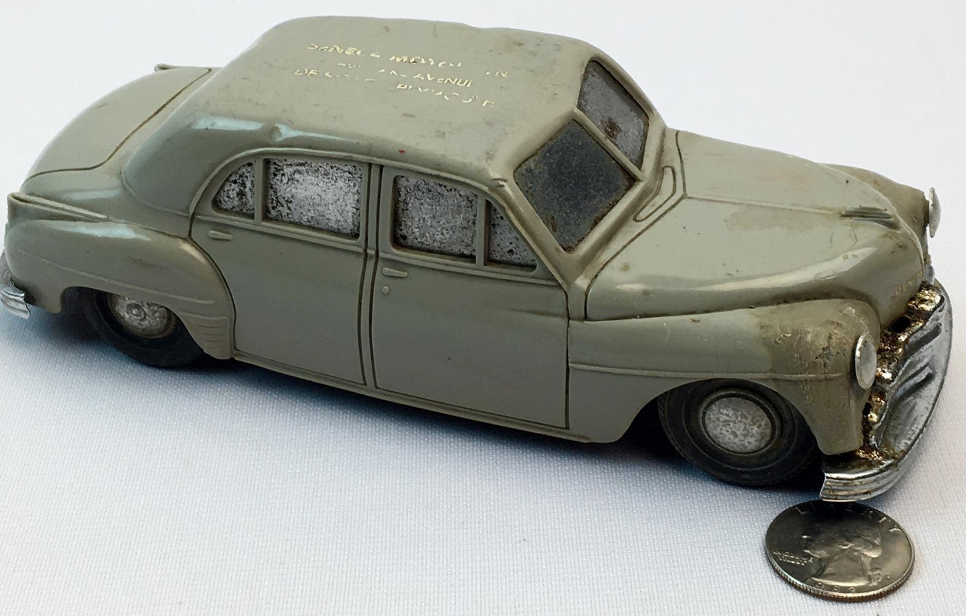 Vintage AMT 1949 Plymouth Special Deluxe 1/25 Scale Promo Car (Seneca Motors)