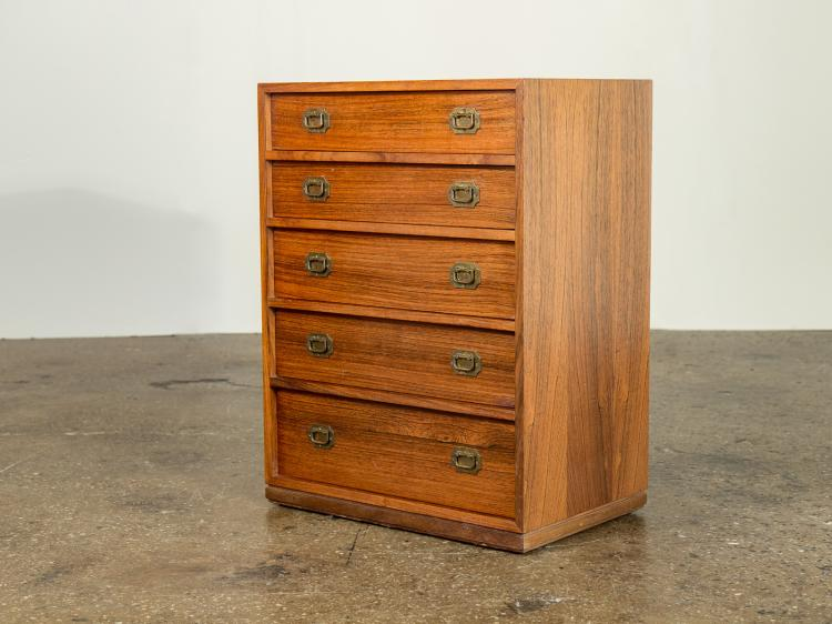 Small Danish Rosewood Chest