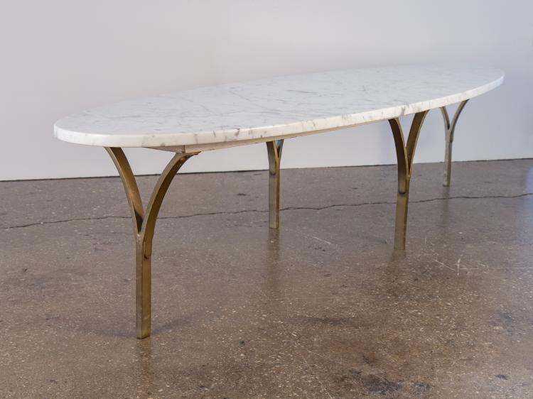 Marble Surfboard Coffee Table