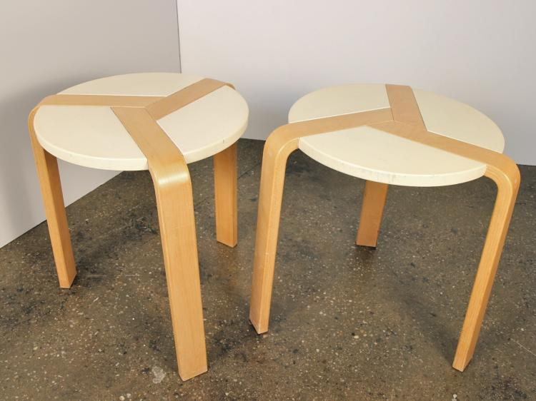 Scandinavian Stacking Stools