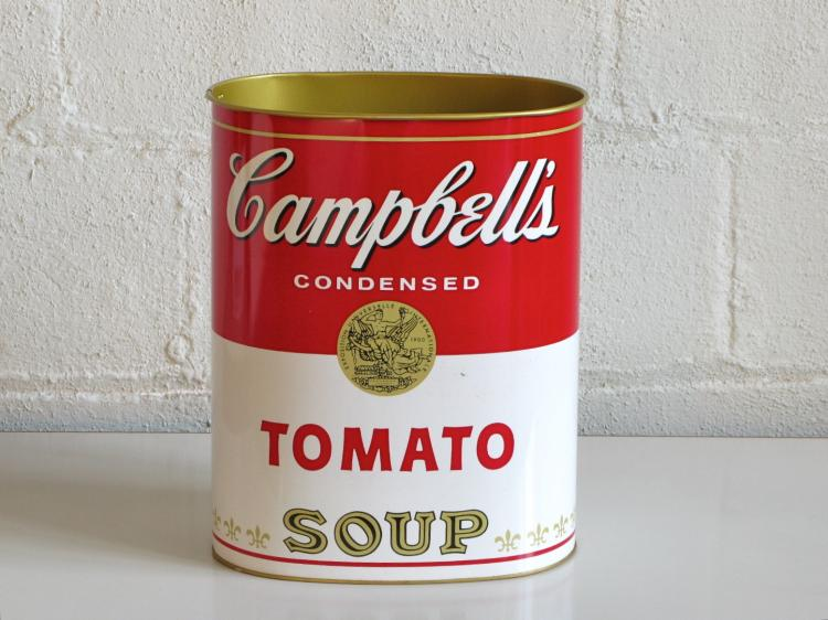 Campbell's Tomato Soup Wastepaper Basket