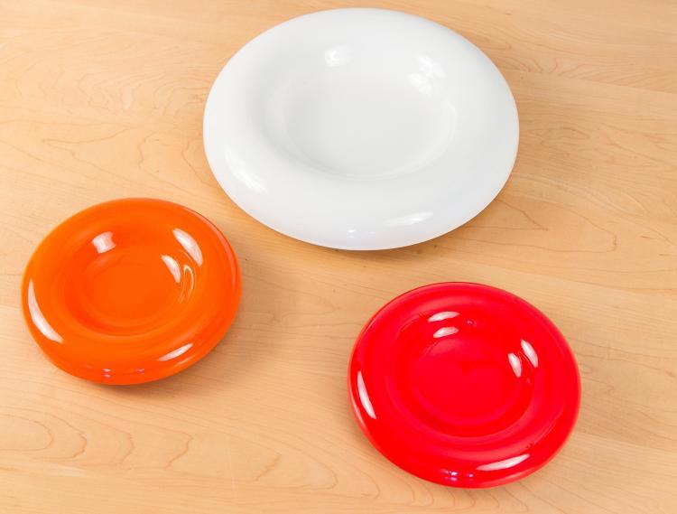 1960s Mid-Century Italian Ceramic Plates for Sicart