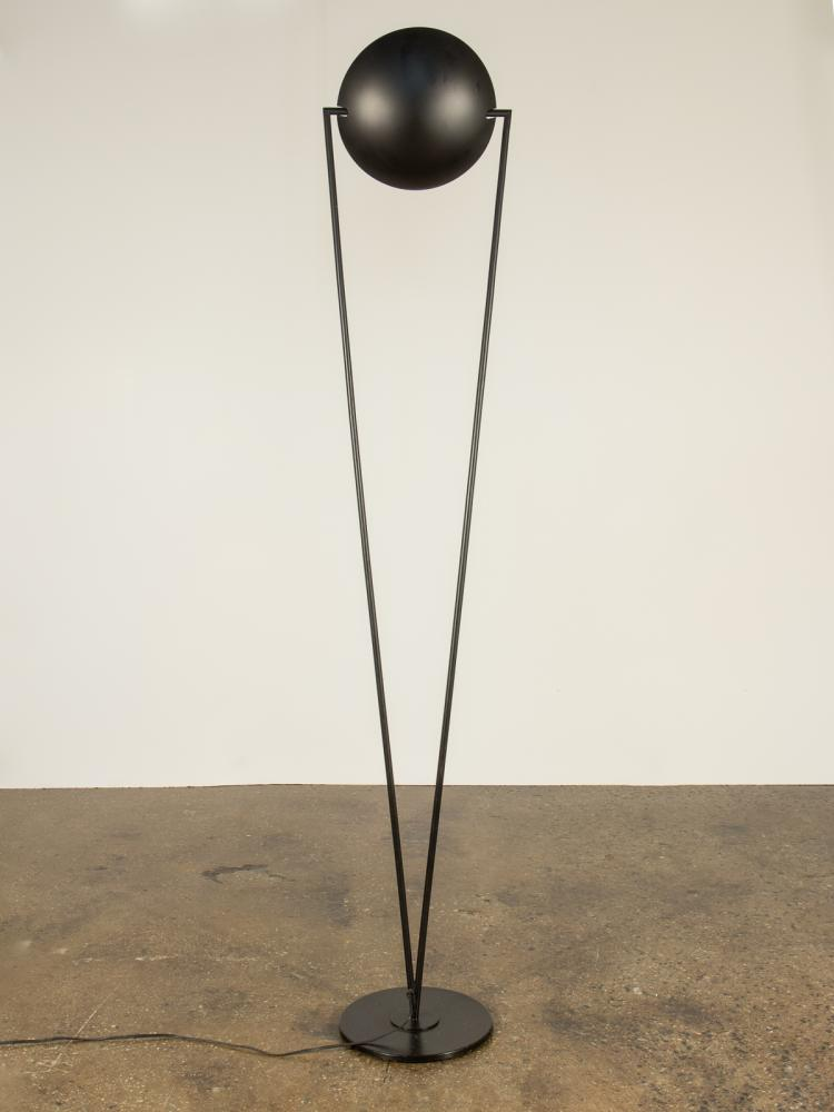 Italian Modern Black Floor Lamp