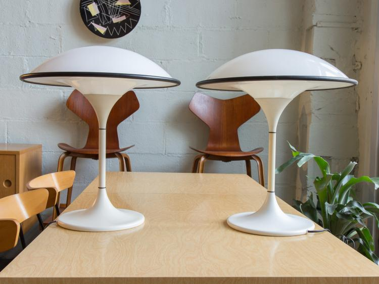 Space-Age Fog & Morup Table Lamps