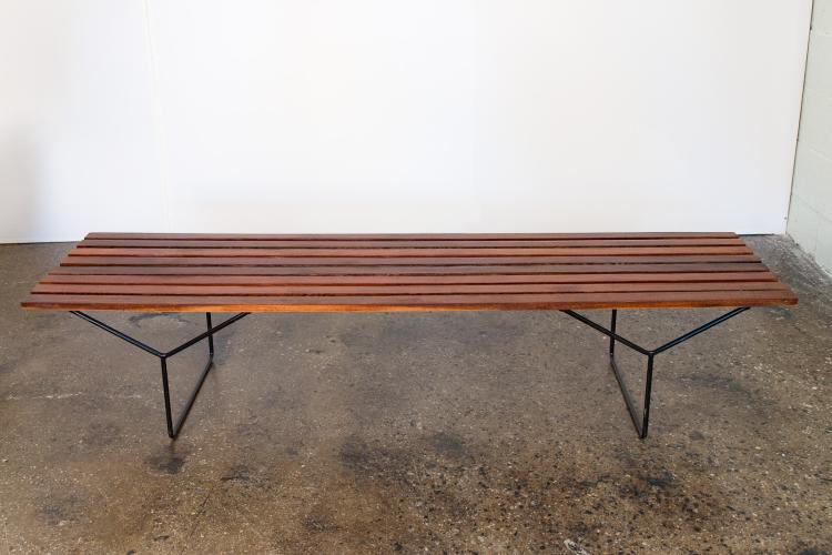 Modern Slat Bench