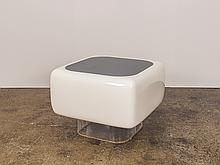 Floating Fiberglass Table by Warren Platner