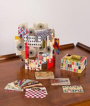 Vintage Small Charles and Ray Eames House of Cards