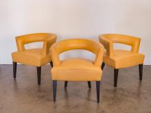 Set of Dakota Jackson Ringback Chairs