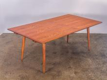 Hans J. Wegner JH570 Teak Dining Table for Johannes Hansen