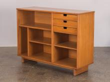 Milo Baughman Small Storage Cabinet Bookcase for Drexel