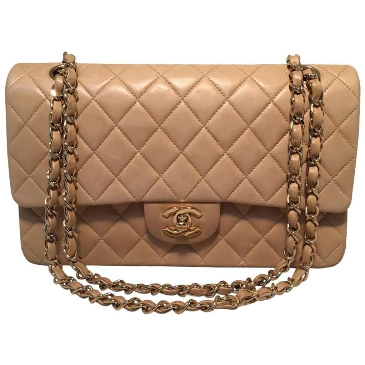 Chanel Tan Leather 10