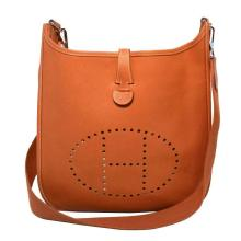 Hermes Natural Tan Epsom Leather Evelyn I PM Shoulder Bag