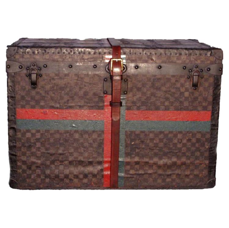 Louis Vuitton Half Steamer Trunk in Damier