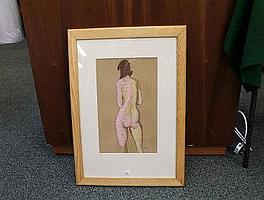 BRIAN MERRY, IRELAND B 1940, untitled nude,
