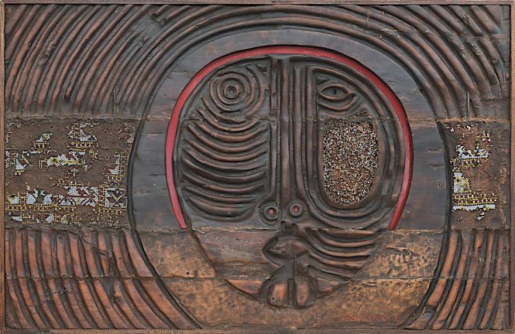 Piraji Sagara (1931 - 2014, India) | Untitled