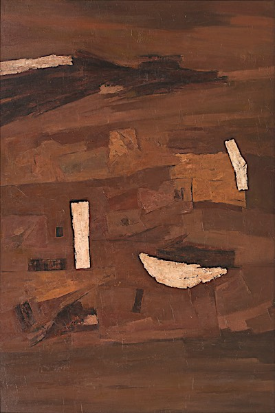 Ramkumar (b.1924, India) | Untitled