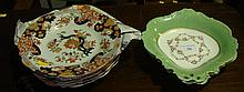 Masons Ironstone plates and Continental sweetmeat