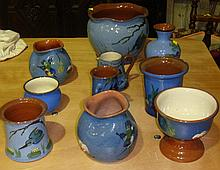 Torquay ware (10 pieces)
