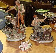 Capo di Monte Hunter figure, The Cobbler and